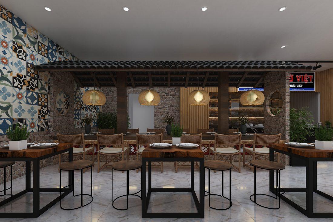 Free 3D Scene Restaurant model Max File 18 by Ha Hai Dang