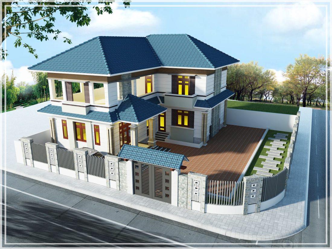 Free 3D Scene Villa Model Sketchup File 42 By Lit Bit