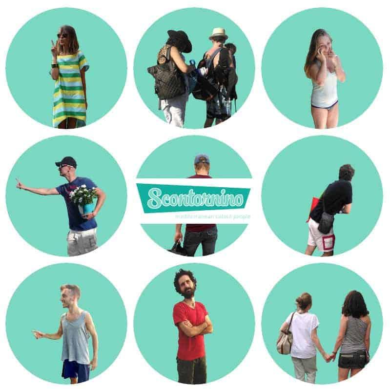 free cutouts people from scontrino