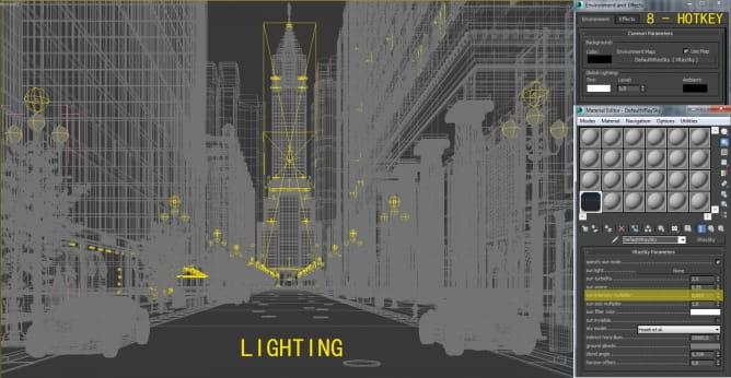Tutorials Creating Night City Scene