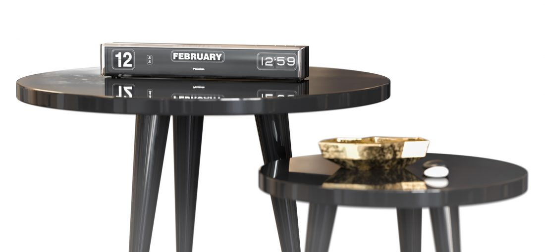 """Free 3d Model table """"ELLE THE"""" and decor By Sargis Grigoryan"""