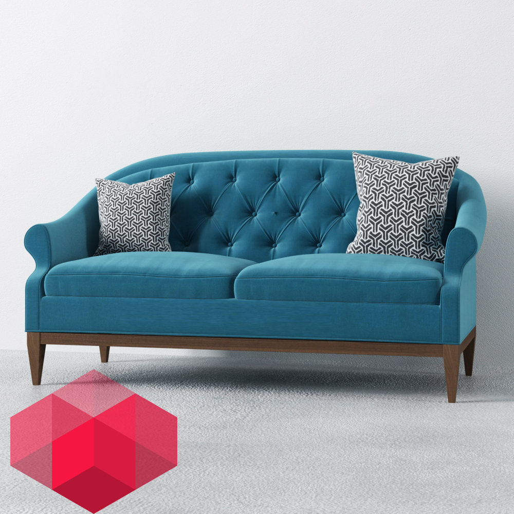 3D MODEL SOFA FREE Share by Redhome Visual