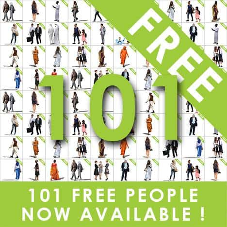 101 Free Cutouts Peoples from Vishopper