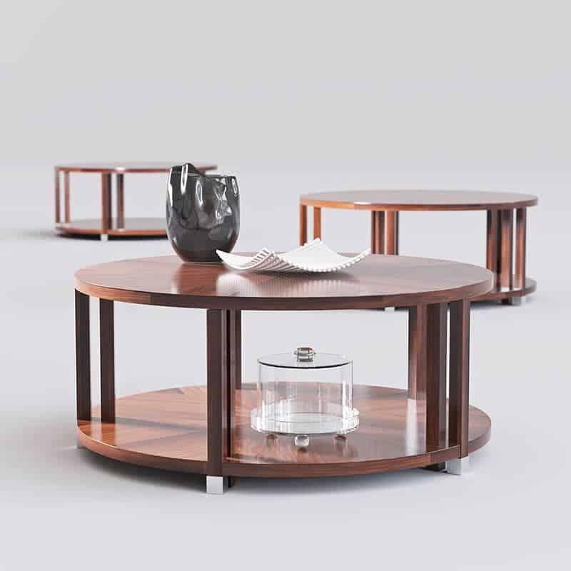 Bolier Atelier Round Cocktail Table from Vitaliy Bozhenov